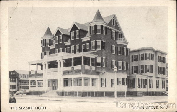 The Seaside Hotel Ocean Grove New Jersey Original Sold