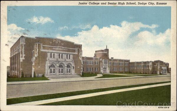 junior college  senior high school dodge city ks