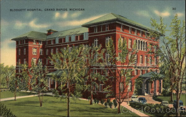 City Of Grand Rapids >> Blodgett Hospital Grand Rapids, MI
