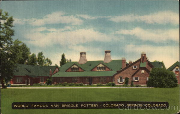 World Famous Van Briggle Pottery Colorado Springs