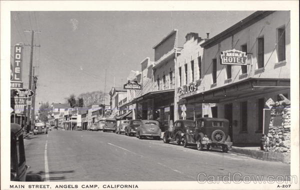 Main Street Angels Camp California