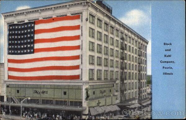 Block and Kuhl Company Peoria Illinois
