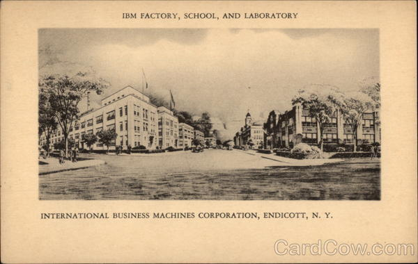 IBM Factory, School and Laboratory Endicott New York