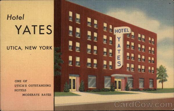 hotel yates utica ny. Black Bedroom Furniture Sets. Home Design Ideas