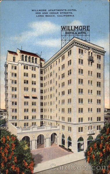 Willmore Apartments-Hotel, 3rd And Cedar Streets Long