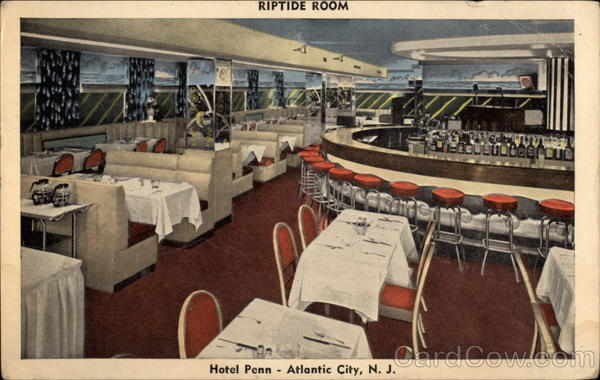 Riptide Room, Hotel Penn Atlantic City New Jersey