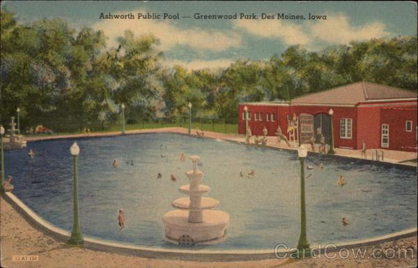 Ashworth Public Pool Greenwood Park Des Moines Ia