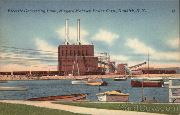 Electric Generating Plant, Niagara Mohawk Power Corp Dunkirk New York
