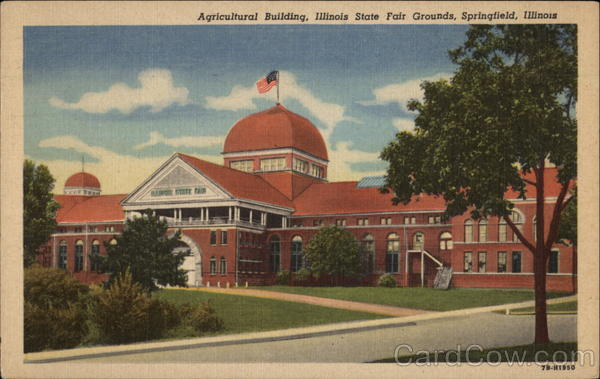 Agricultural Building, Illinois State Fair Grounds Springfield