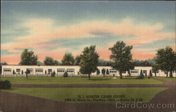 H.i. Martin Deluxe Cabins Findlay Ohio