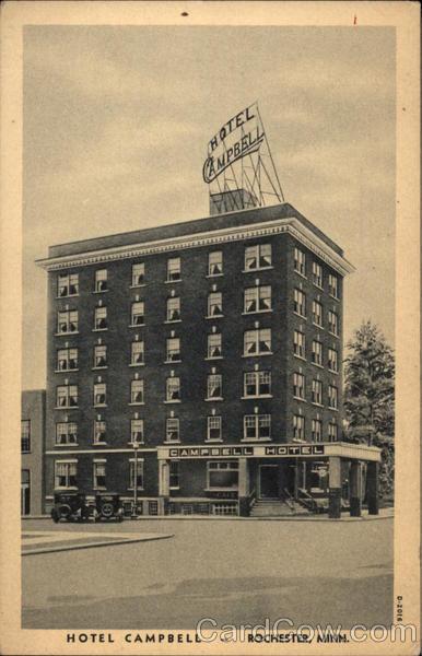 Hotel Campbell Rochester Minnesota