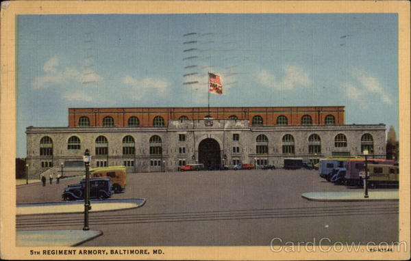 5th Regiment Armory Baltimore Maryland