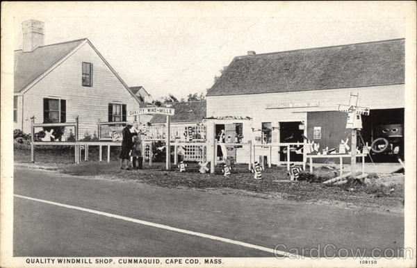 Quality Windmill Shop, Cape Cod Cummaquid Massachusetts