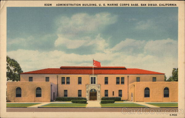 U.S. Marine Corps Base - Administration Building San Diego California