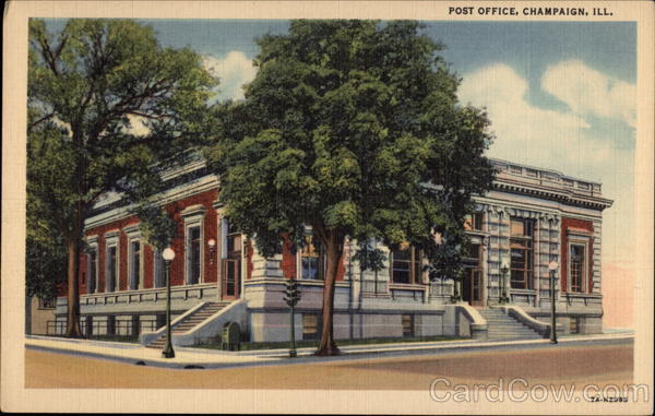 Post Office Champaign Illinois