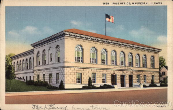 Post Office Waukegan Illinois