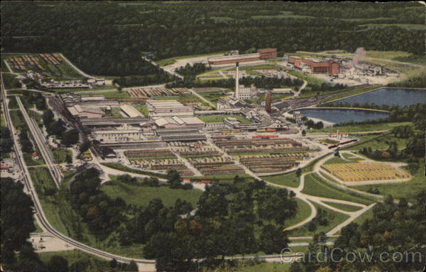 Aerial View Of Crossett Arkansas