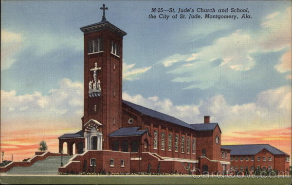 St. Jude's Church and School, City of St. Jude Montgomery Alabama