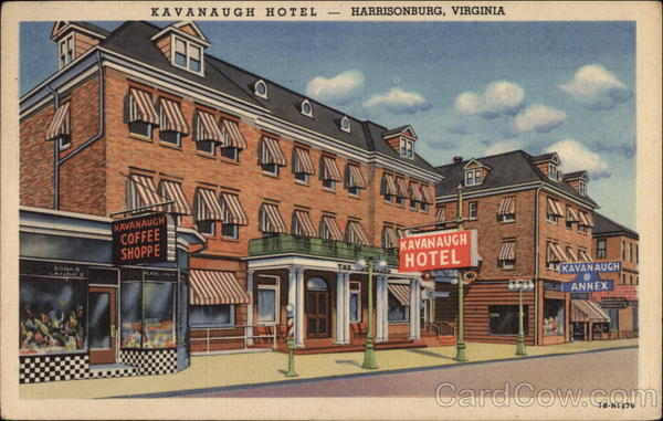 Kavanaugh Hotel Harrisonburg Virginia