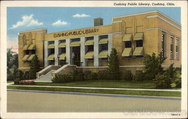 Cushing Public Library Oklahoma