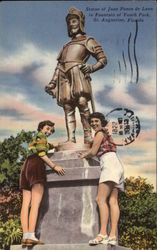 Statue of Juan Ponce de Leon in Fountain of Youth Park