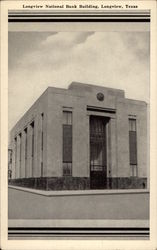 Longview National Bank Building Postcard