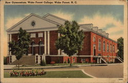 New Gymnasium, Wake Forest College