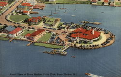 Aerial View of Stone Harbor Yacht Club