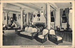 Lobby of Mitchell Inn