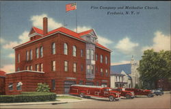 Fire Company and Methodist Church