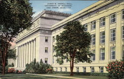 James B. Angell Hall, University of Michigan