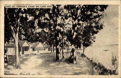 Yowler's Camp on Lake Erie Postcard