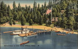 Sweyolakan on Lake Coeur d'Alene