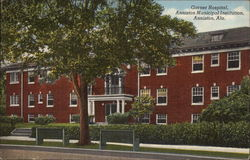 Garner Hospital, Anniston Municipal Institution