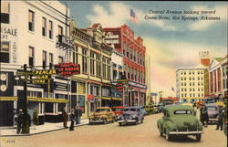 Central Avenue looking toward Como Hotel