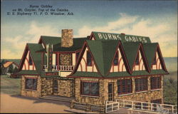 Burns Gables on Mt. Gayler, Top of the Ozarks, U.S. Highway 71