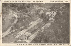 Aerial View of Mountain Valley Spring