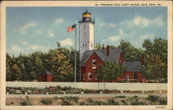 Presque Isle Light House, 1872