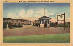 Main Gate, Ashburn General Hospital