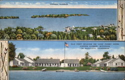 Old Fort Wilkins on Lake Fanny Hooe, Copper Harbor