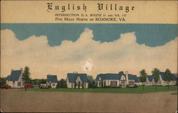 English Village Intersection U.S Route 11 and VA. 117