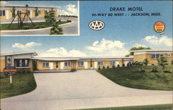 Drake Motel on Highway 80 West in Jackson