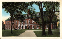 Library, University of Illinois