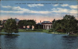 Lake and Girls' Dormitory, Mount Union College