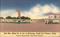 Del Mar Motel, U.S. 99 at McKinley, North End Fresno
