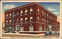 Hotel Denison Iowa Ia Linen Pm 1953 Sep 4
