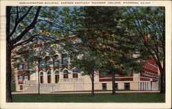 Administration Building, Eastern Kentucky Teachers' College