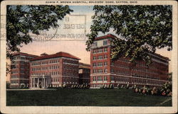 Edwin F. Brown Hospital and Soldiers' Home in Dayton
