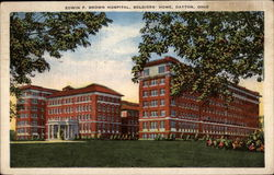 Edwin F. Brown Hospital, Soldiers' Home