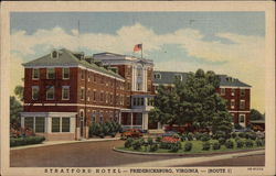 Stratford Hotel, on Route 1, in Fredericksburg
